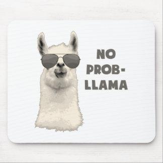 No Problem Llama Mouse Mat