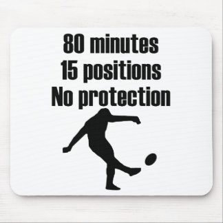 No Protection Rugby Mouse Mat