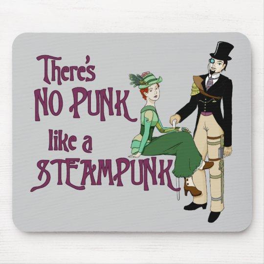No punk like a steampunk mouse mat