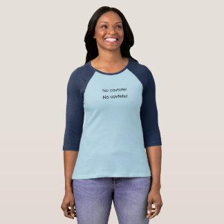 NO PUPPET! - No covfefe Black Women's T-Shirt
