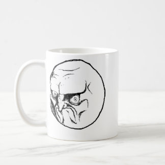 NO. Rage Face Coffee Mug