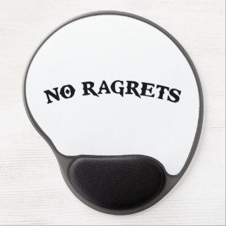 No Ragrets Mispelled Regrets Tattoo Gel Mousepad