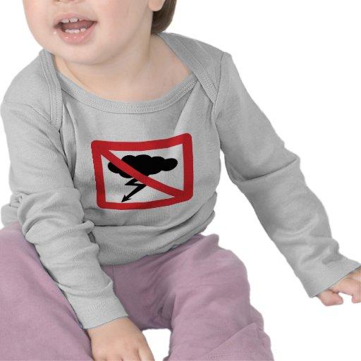 no rain - no thunderstorm t-shirts