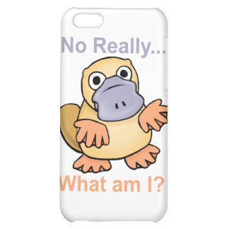 No Really... What am I? Platypus iPhone 5C Case
