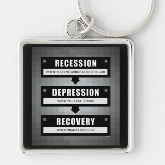 No Recovery With Obama Keychains