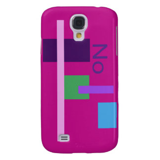 No Red Violet Galaxy S4 Case