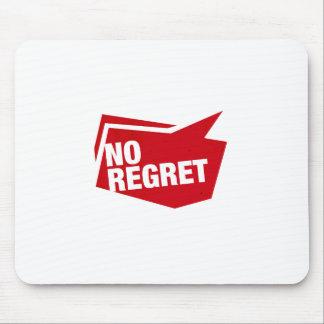 no regret - rot mousepads