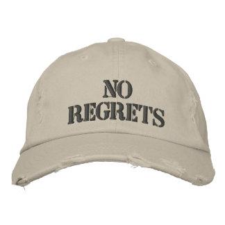 No Regrets Baseball Cap