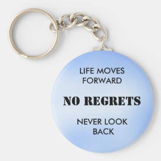 NO REGRETS - keychain