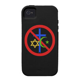 No Religion Vibe iPhone 4 Cover