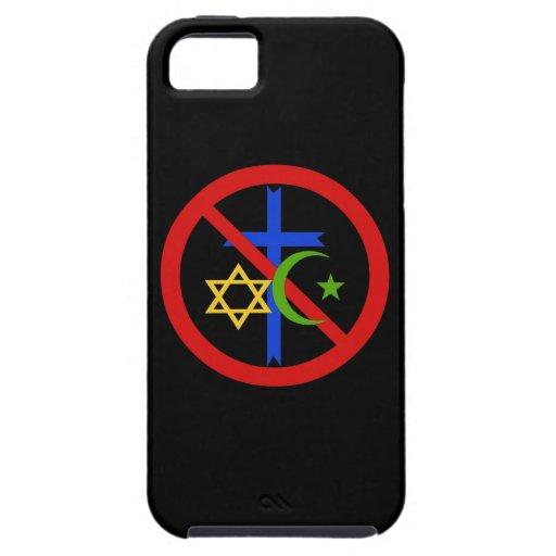 No Religion iPhone 5 Cases