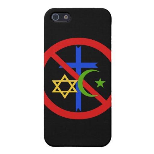 No Religion iPhone 5 Case
