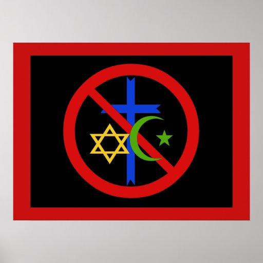 No Religion Posters