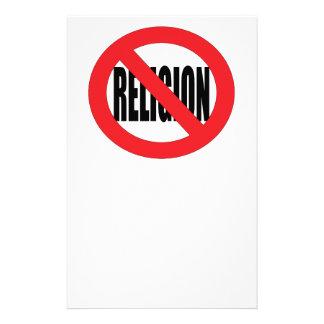 No Religion Stationery