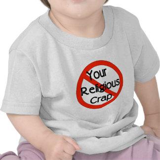 No Religious Crap T-shirt