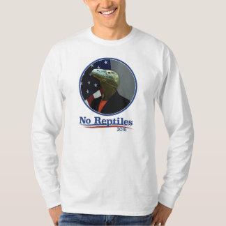 No Reptiles 2016, Hillary! T-Shirt
