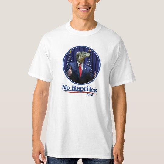 No Reptiles 2016, Trump! T-Shirt