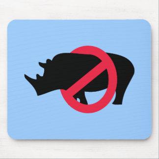 No Rhinos - Rino Buster Mouse Pad