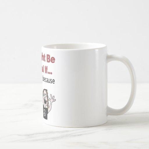 No rides at the job fair coffee mug