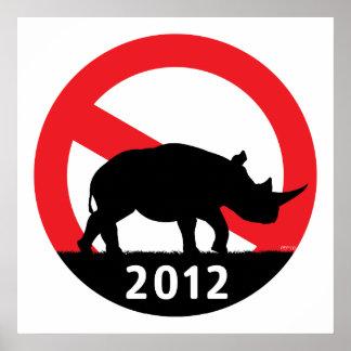 No RINO Posters
