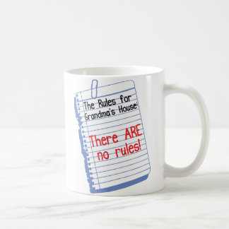 No Rules at Grandma's House Coffee Mug