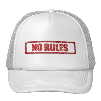 NO RULES GANGSTER GANGS WARNING REBELLION MOTTO AT CAP
