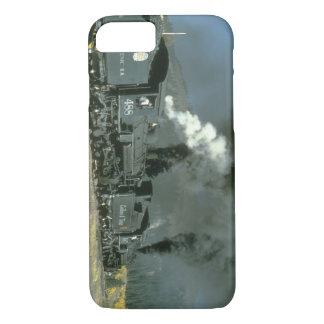 No.'s 487 & 488 blacken the air_Steam Trains iPhone 7 Case