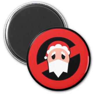 No Santa Magnet