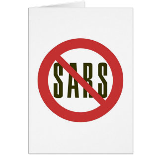 No Sars Card