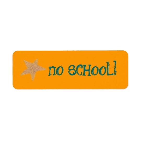 No school label
