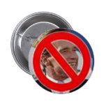 No Schwarzenegger! Pinback Button