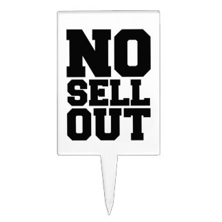 NO SELL OUT CAKE PICK