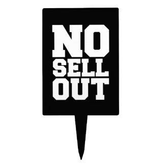 NO SELL OUT CAKE PICKS