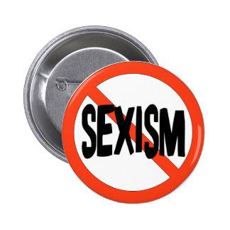 No Sexism 6 Cm Round Badge