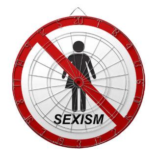 """""""No Sexism"""" Dartboard"""