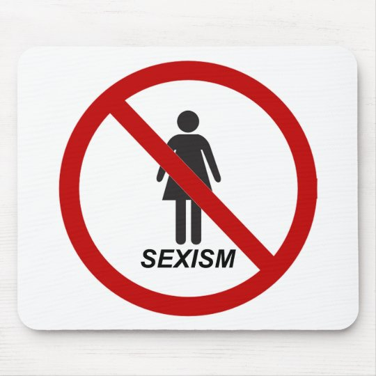 """No Sexism"" Mouse Mat"