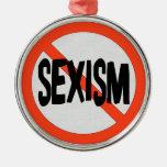 No Sexism Ornaments