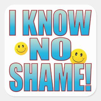 No Shame Life B Square Sticker