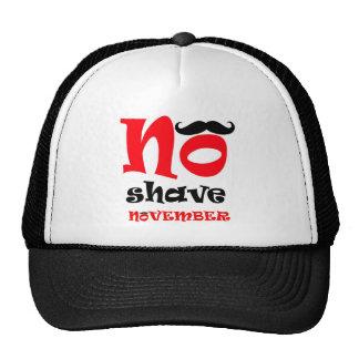 No Shave Novemeber trucker hat