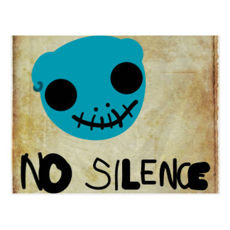 No Silence Postcard