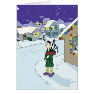 No Silent Night in Duncans Neighborhood Card