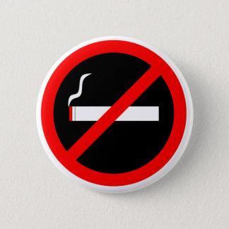 No Smoking 6 Cm Round Badge