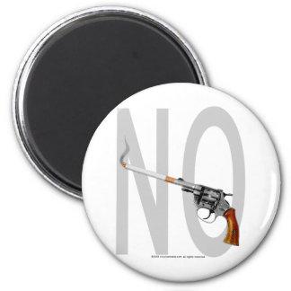 NO Smoking... 6 Cm Round Magnet