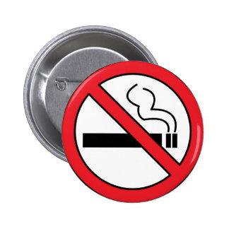 No smoking buttons