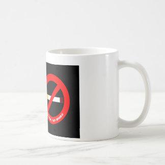 No Smoking Basic White Mug