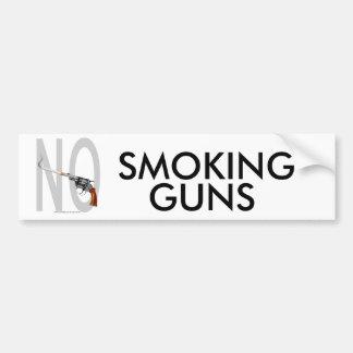 NO Smoking... Bumper Sticker