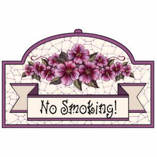 """No Smoking"" - Decorative Sign - 12 Photo Sculpture Decoration"