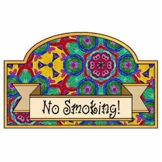 No Smoking - Decorative Sign Photo Cut Out
