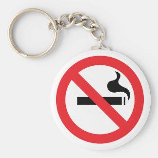 No Smoking Key Ring