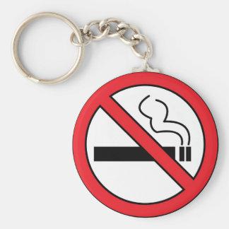 No smoking keychain